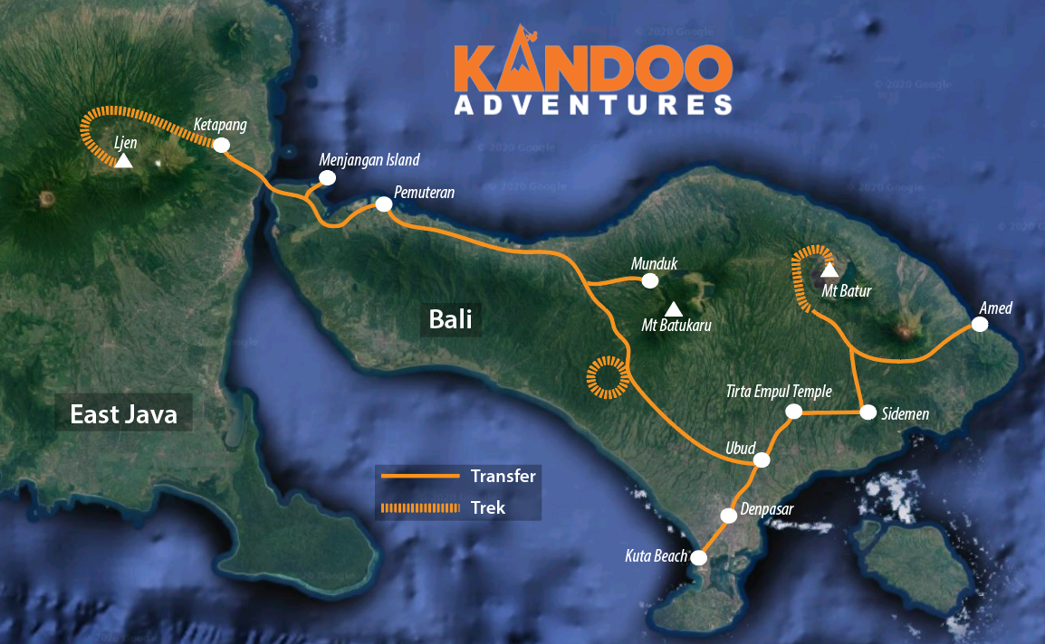 Extreme Indonesia Route Map