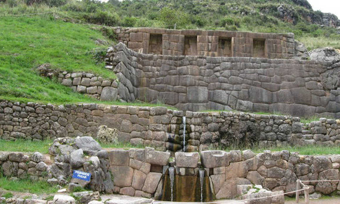 Archeological site of Tambomachay in Cuzco