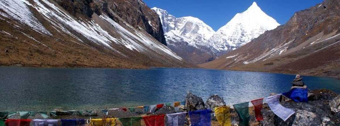 Dagala lake in Bhutan