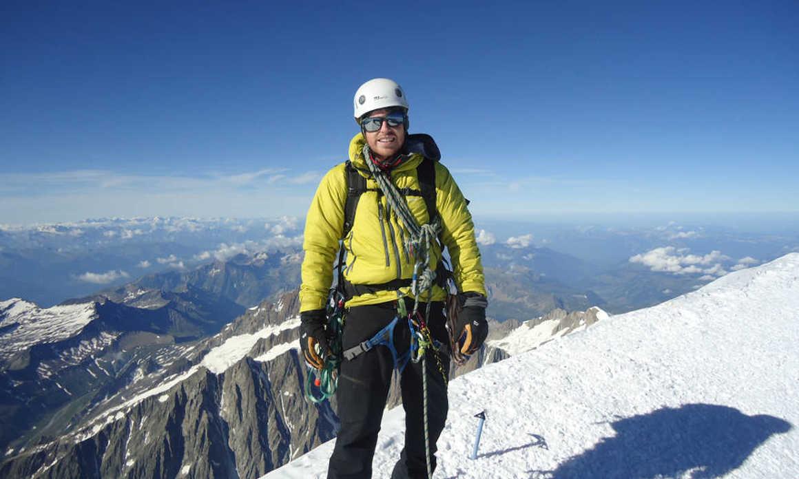 Danny Bottomley trek for Charity