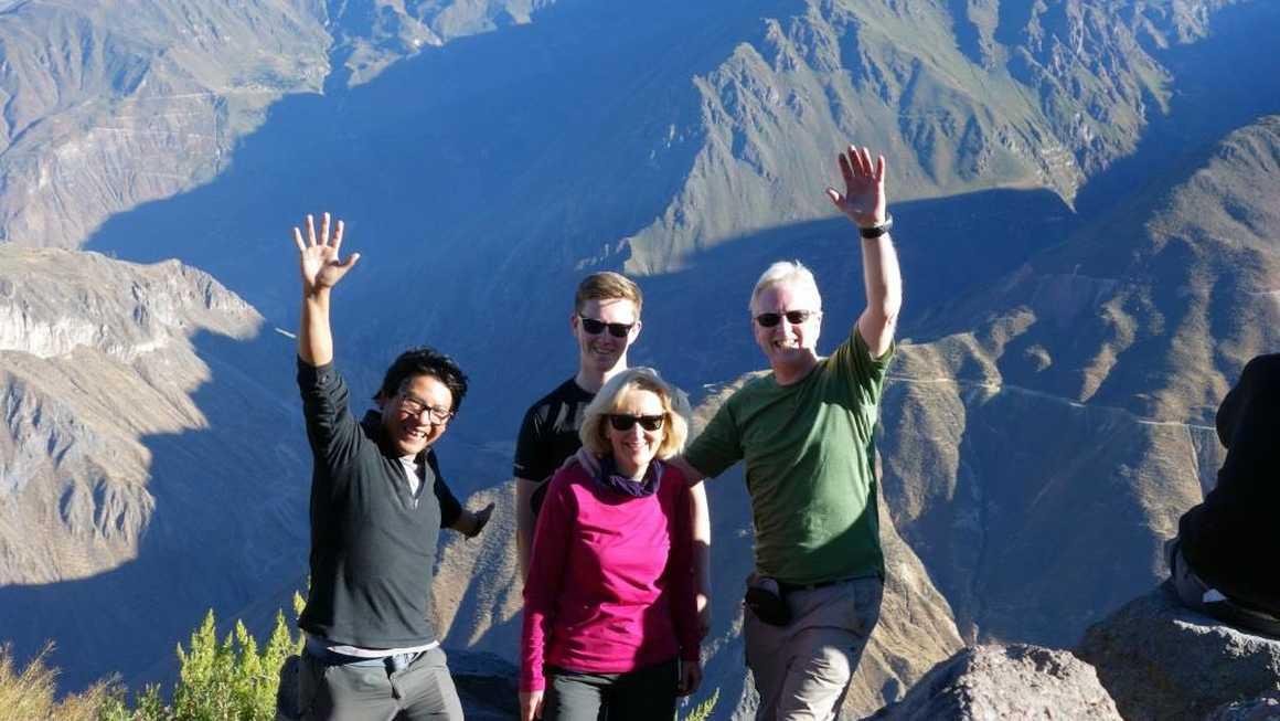 Group at Colca Canyon