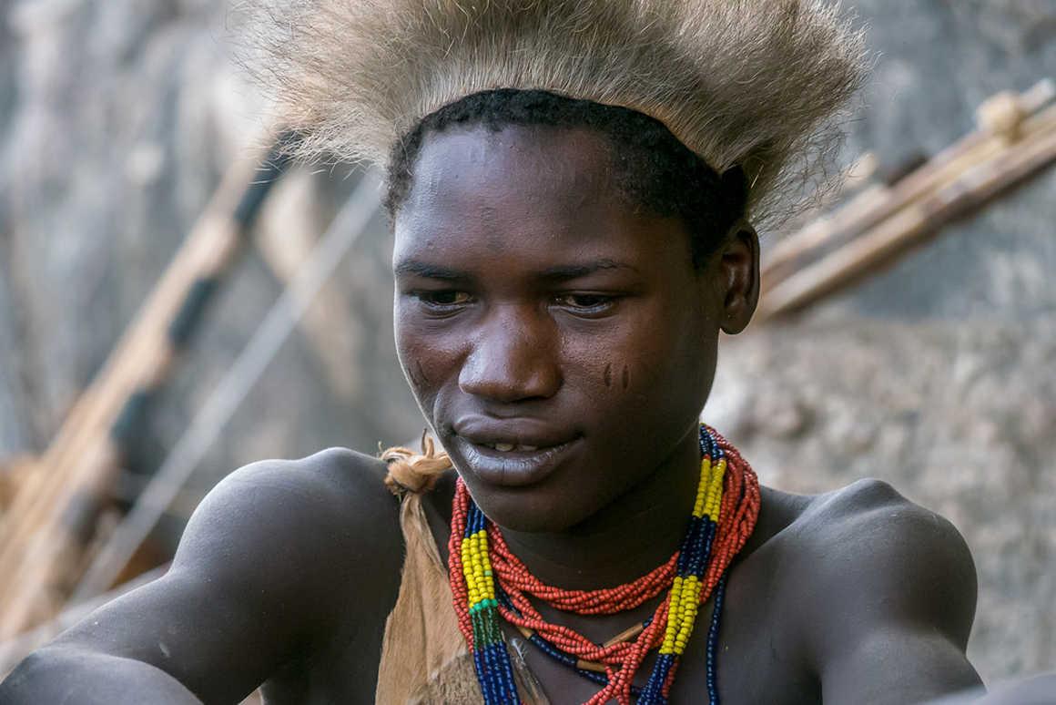 Hdzabe tribe lake eyasi