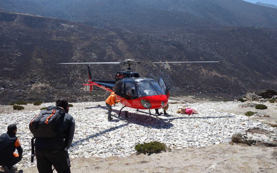 Heli treks - Everest Base Camp