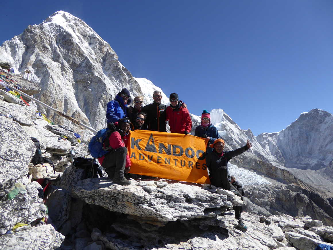 Kandoo Adventures group in Nepal