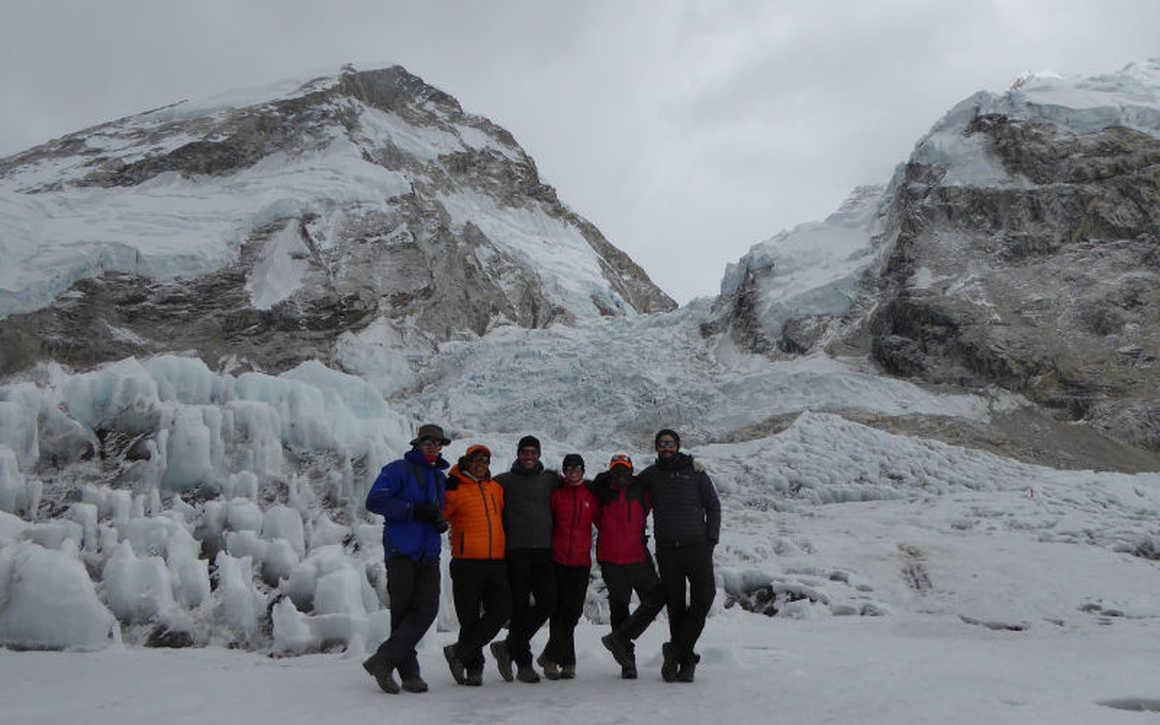 Khumbu icefall Kandoo