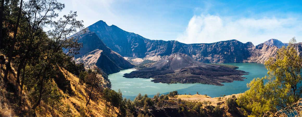 Lombok island in Indonesia