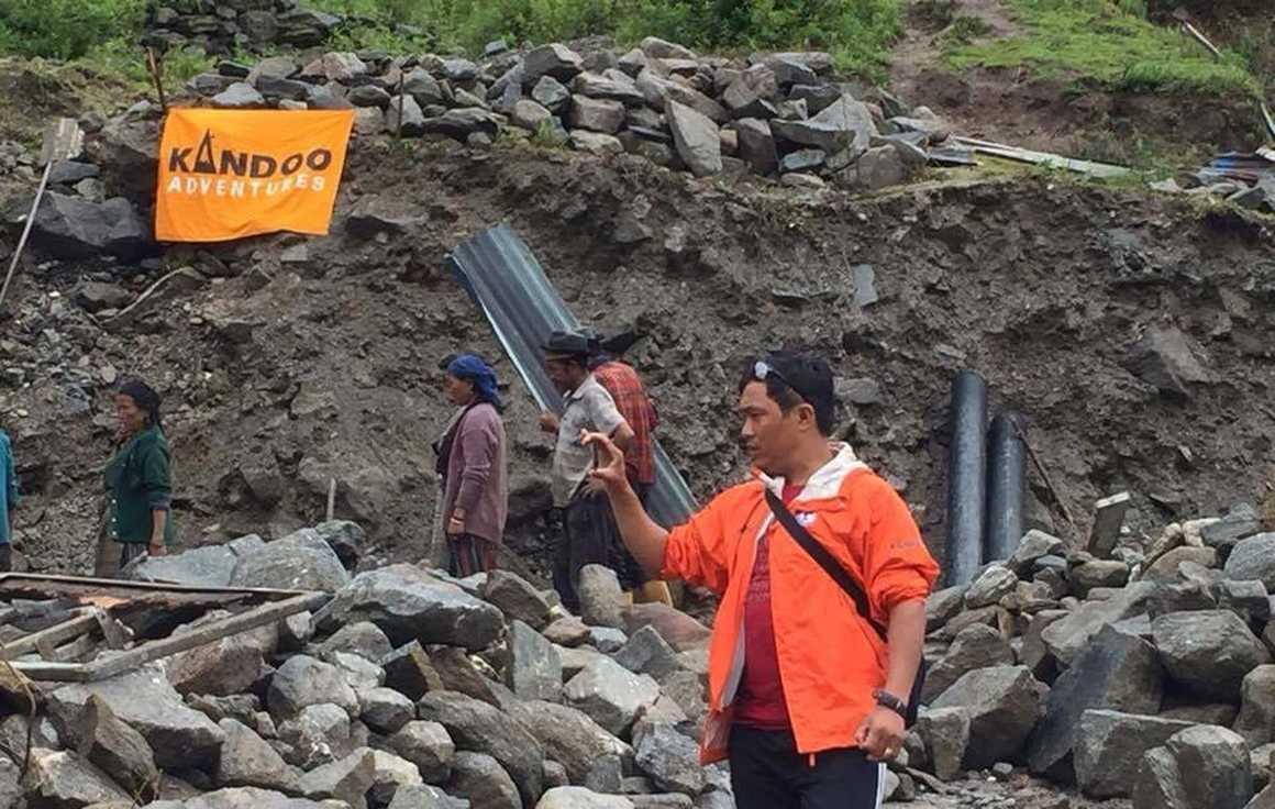 Nepal Playground reconstruction