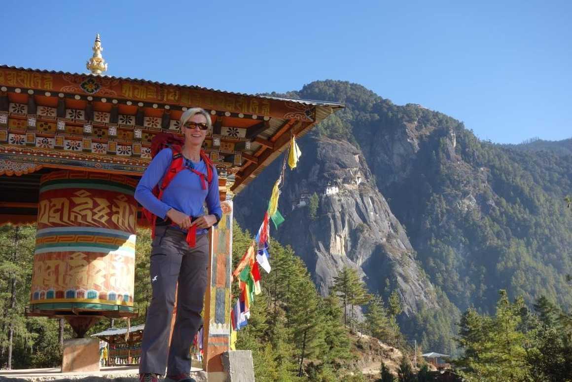 Our team in Bhutan