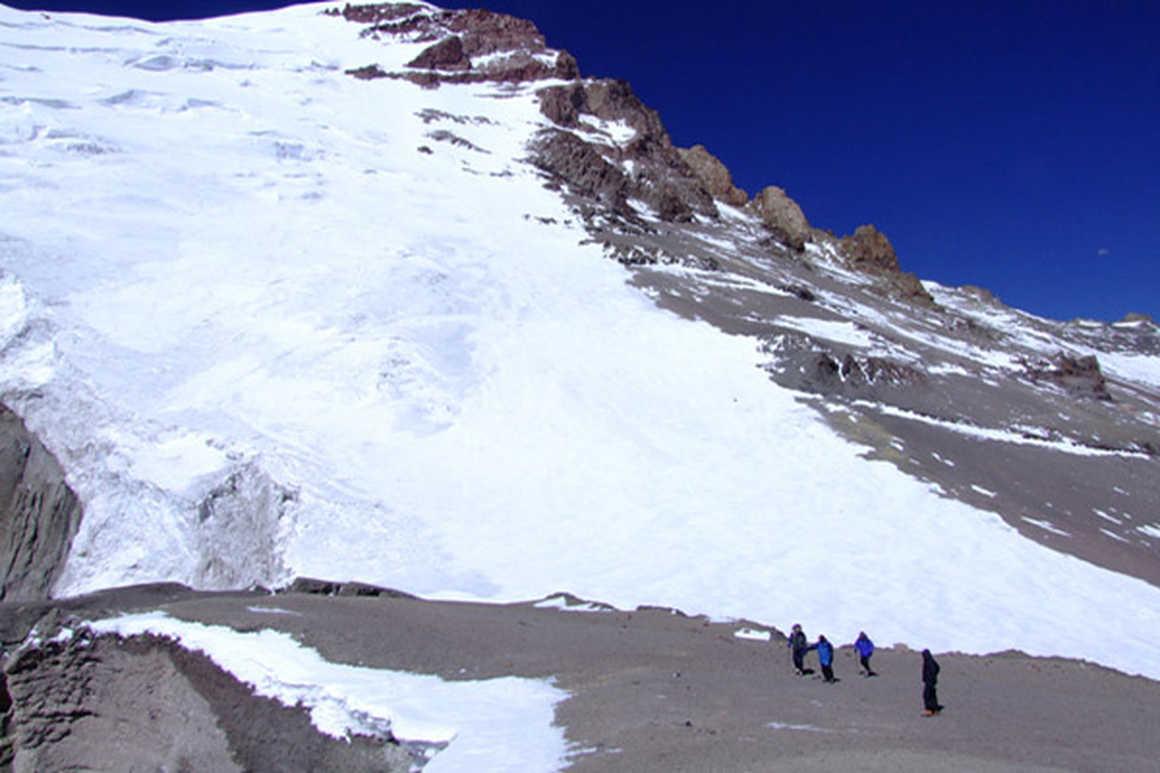 Polish Glacier route Aconcagua