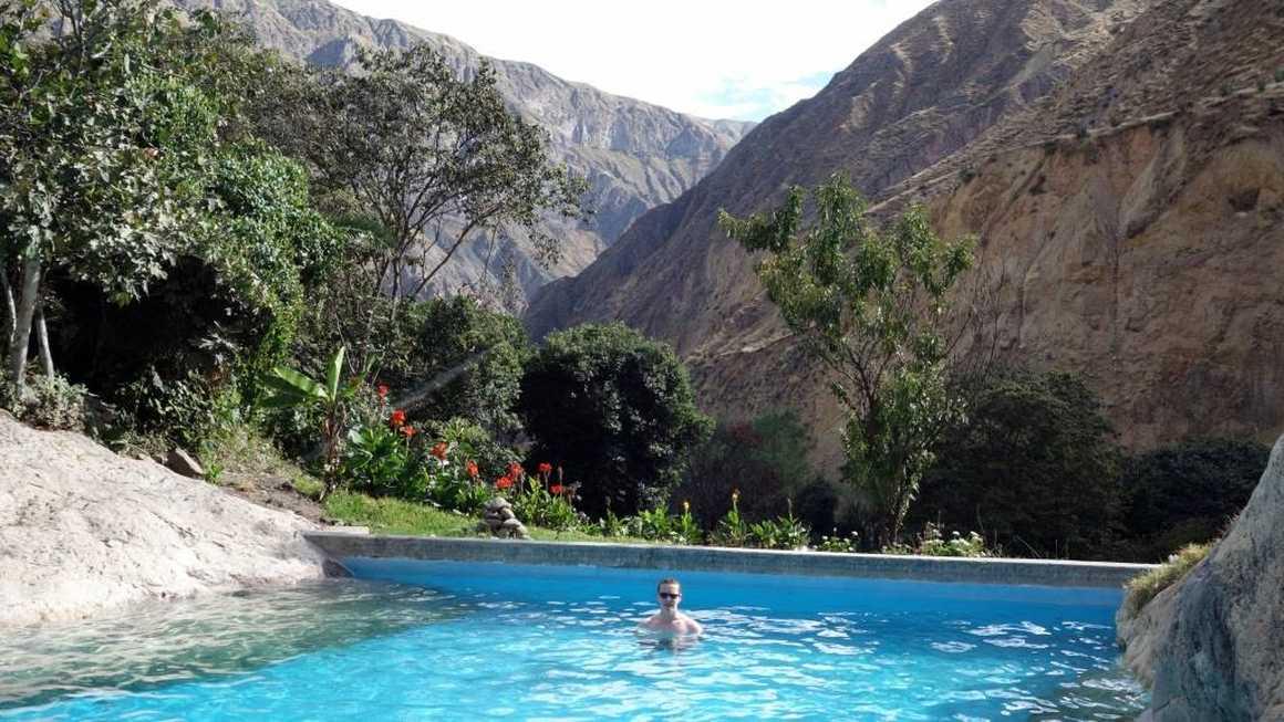 Pool at Colca bottom