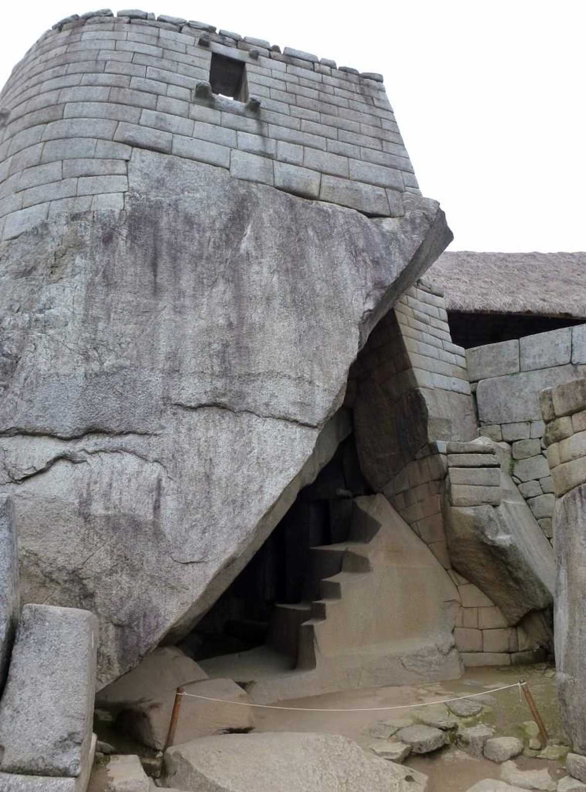 Royal Tomb in Machu Picchu