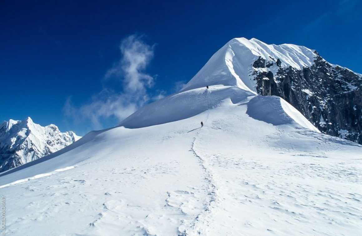 Tent peak in Nepal