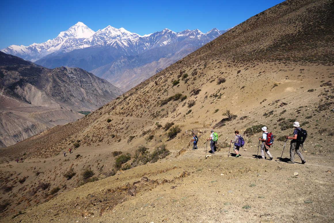 Trek in the Mustang District, Nepal