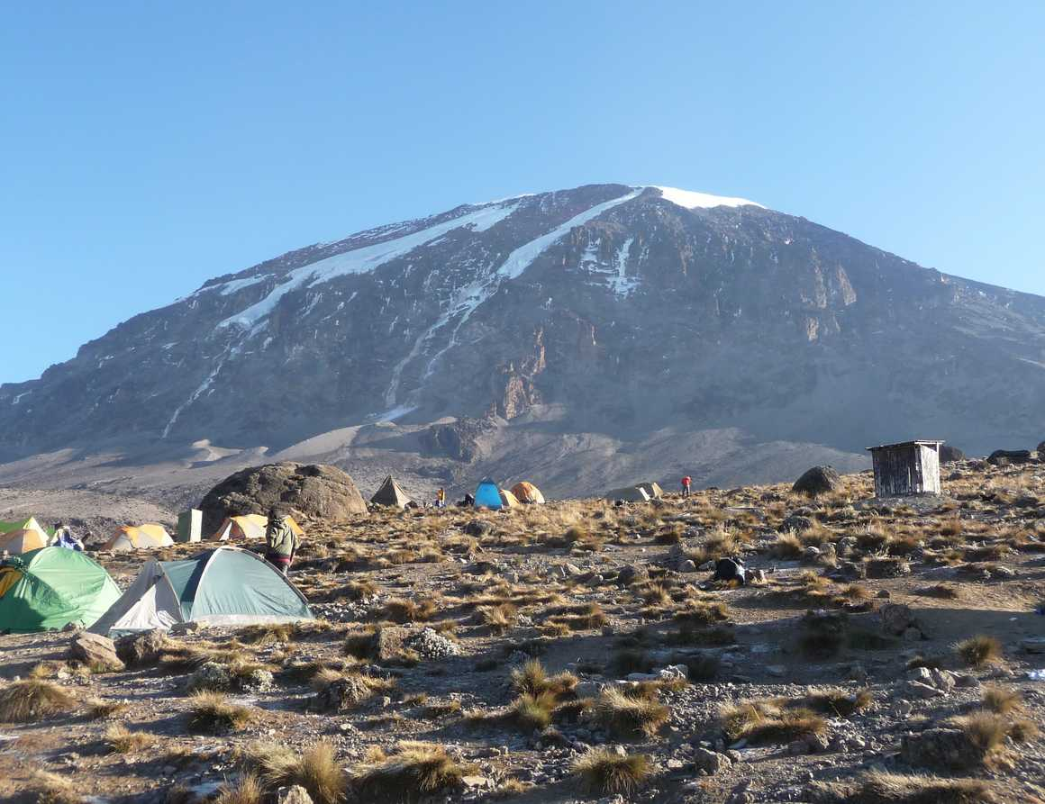 View from Karanga camp