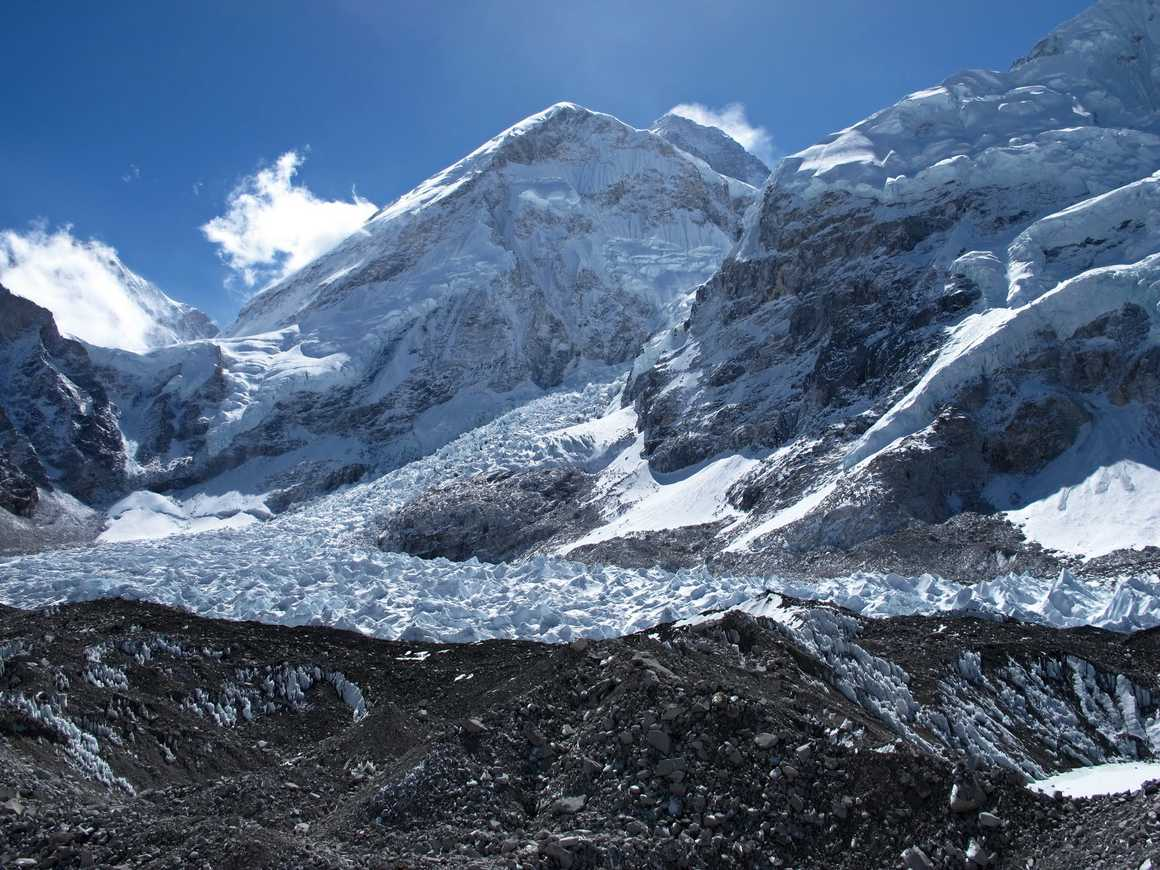 View from the Everest Base Camp