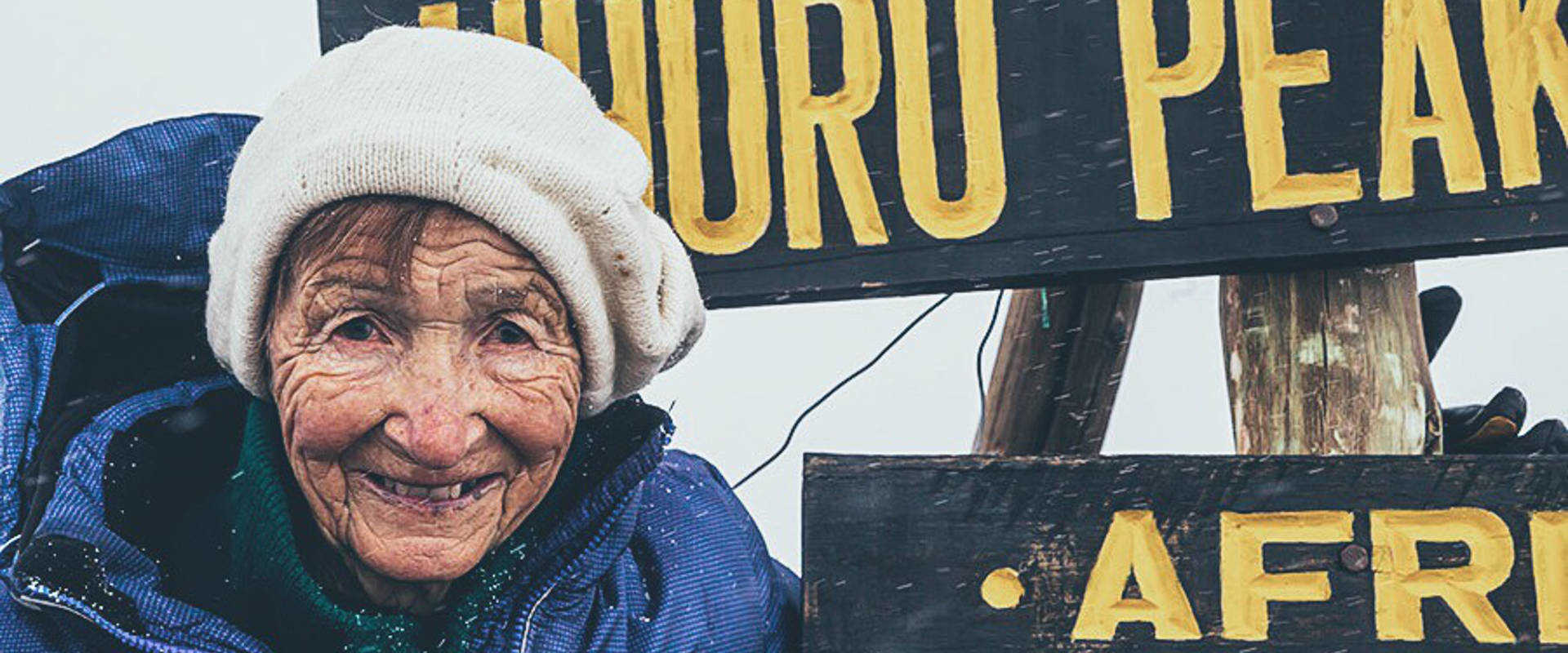 86 year-old climbs Kilimanjaro