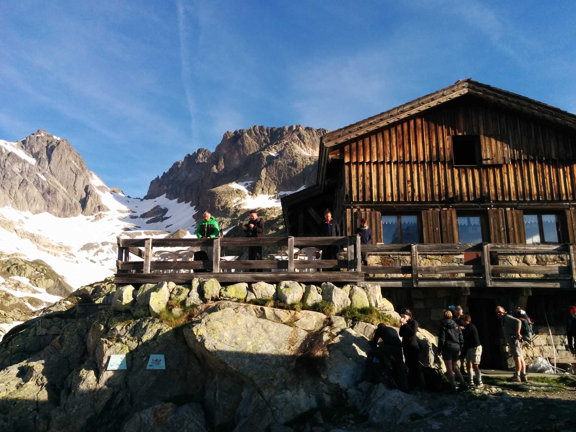 Accommodation during the Tour du Mont Blanc