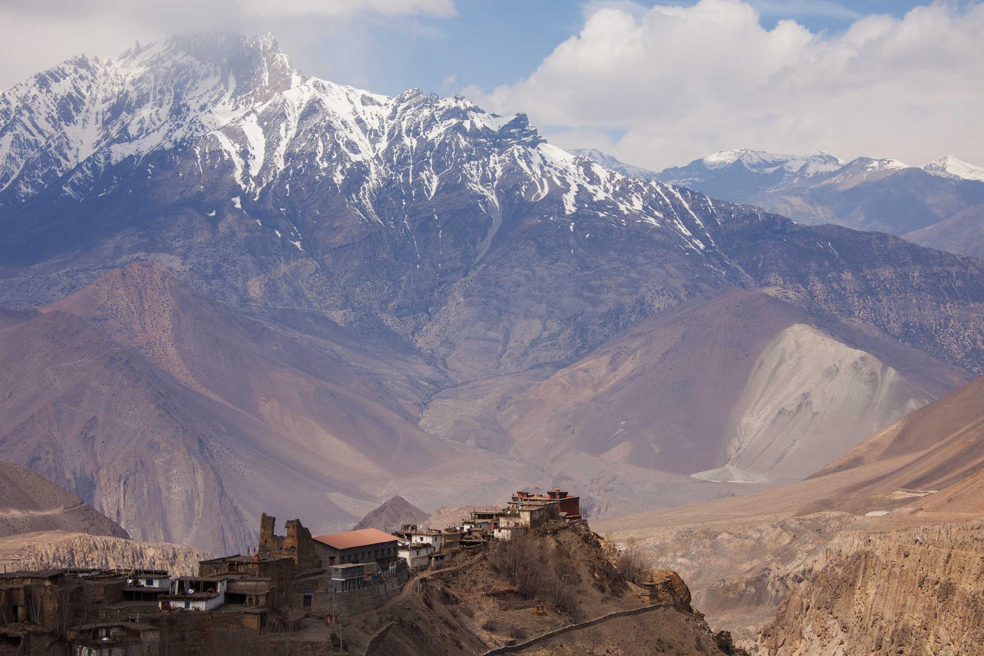 High village in Bhutan