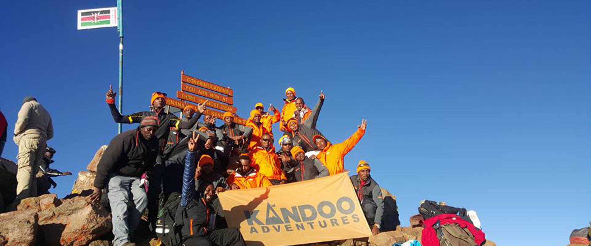 Kandoo partnership program in Mount Kenya