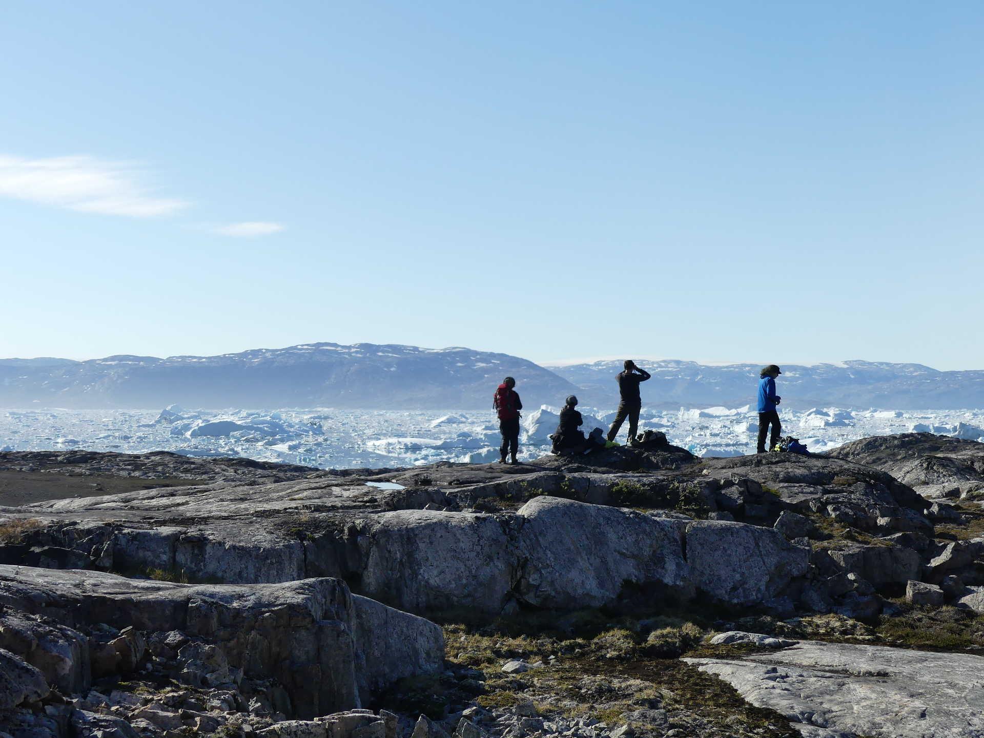 Landscapes of Greenland during Summer