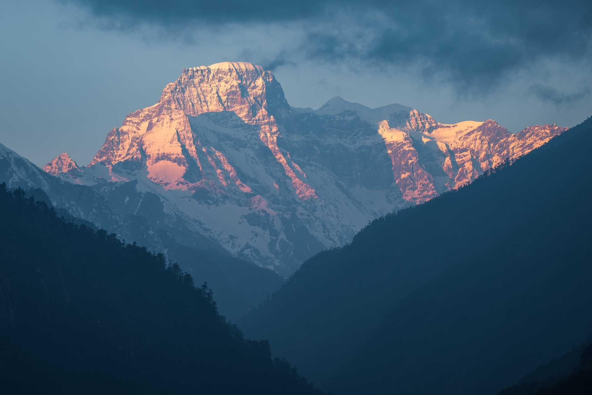 Mountains in Bhutan