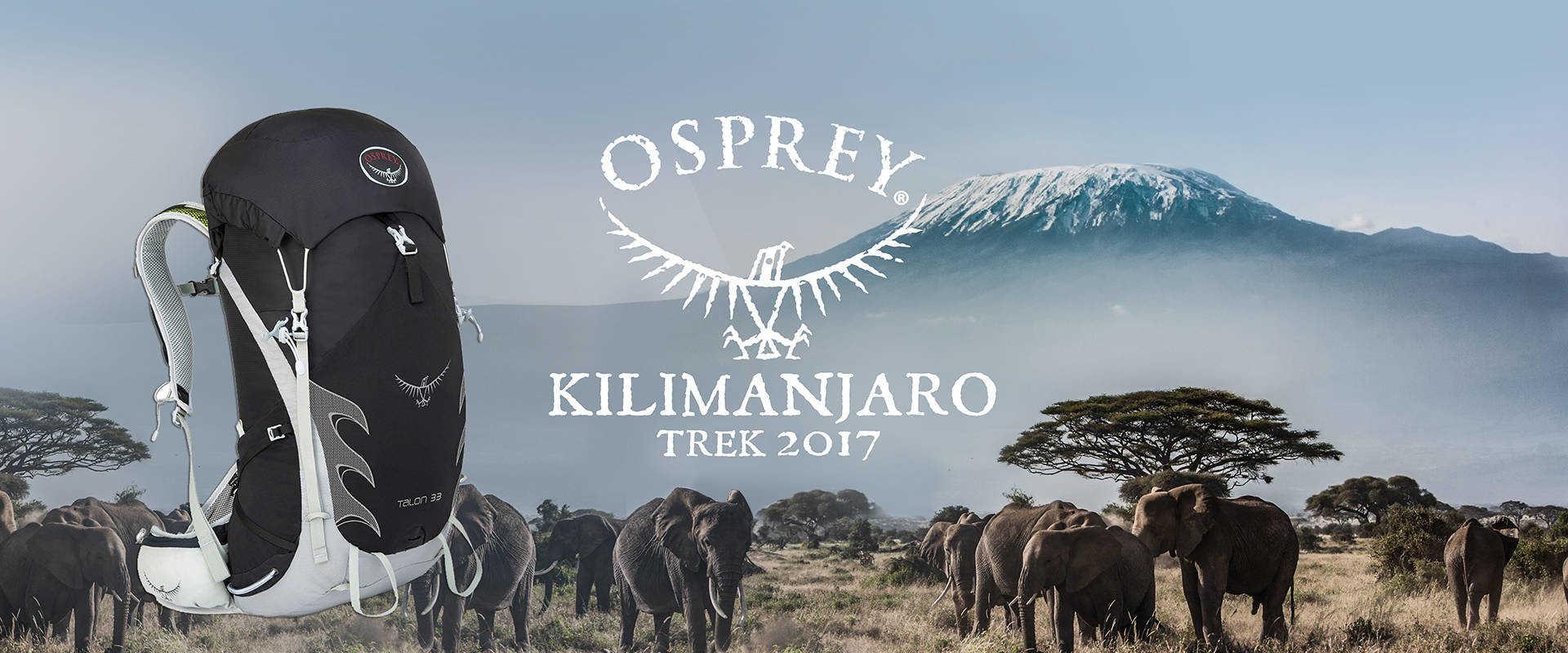 Osprey Kilimanjaro trek