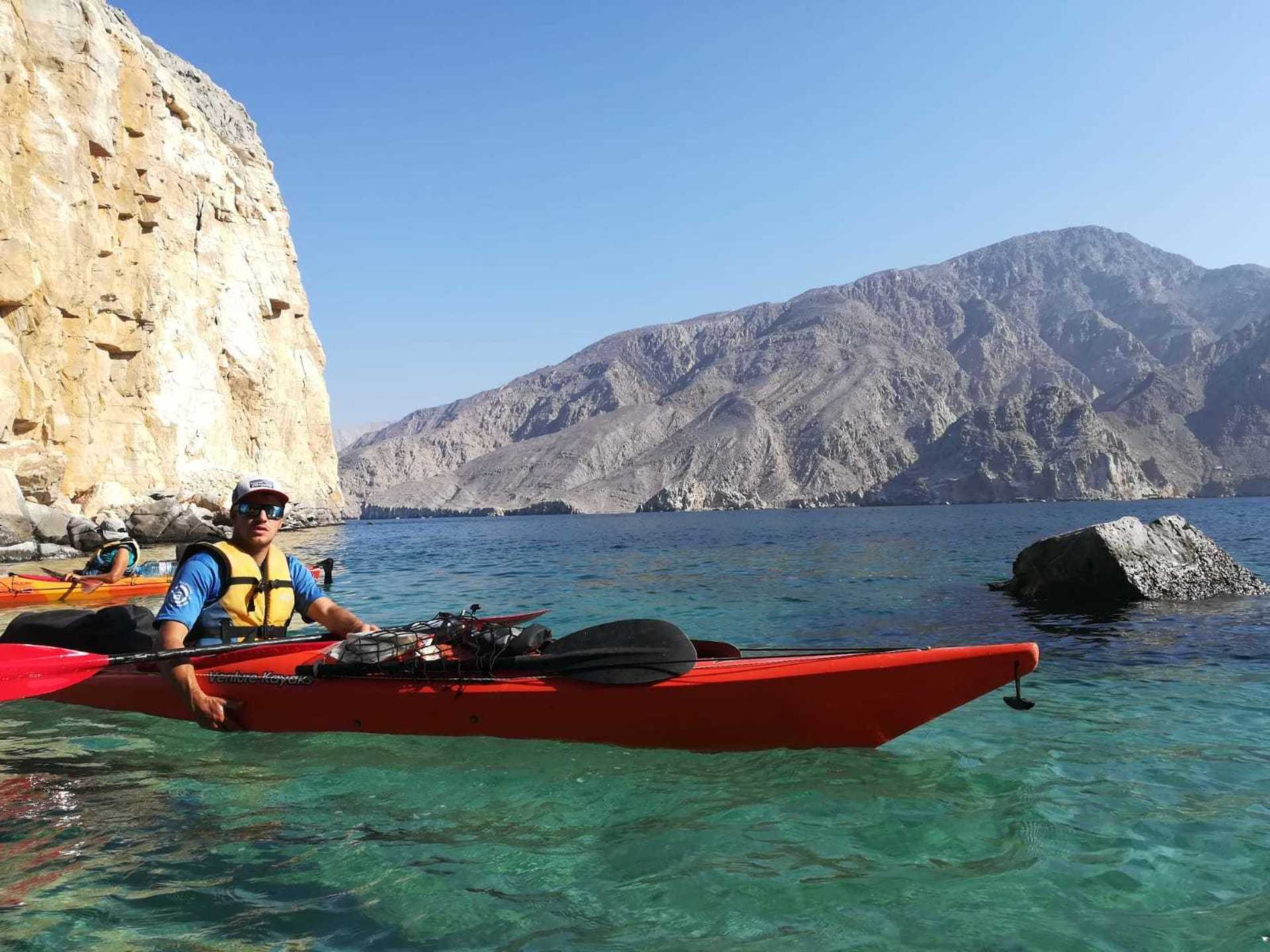 Our guide in Oman