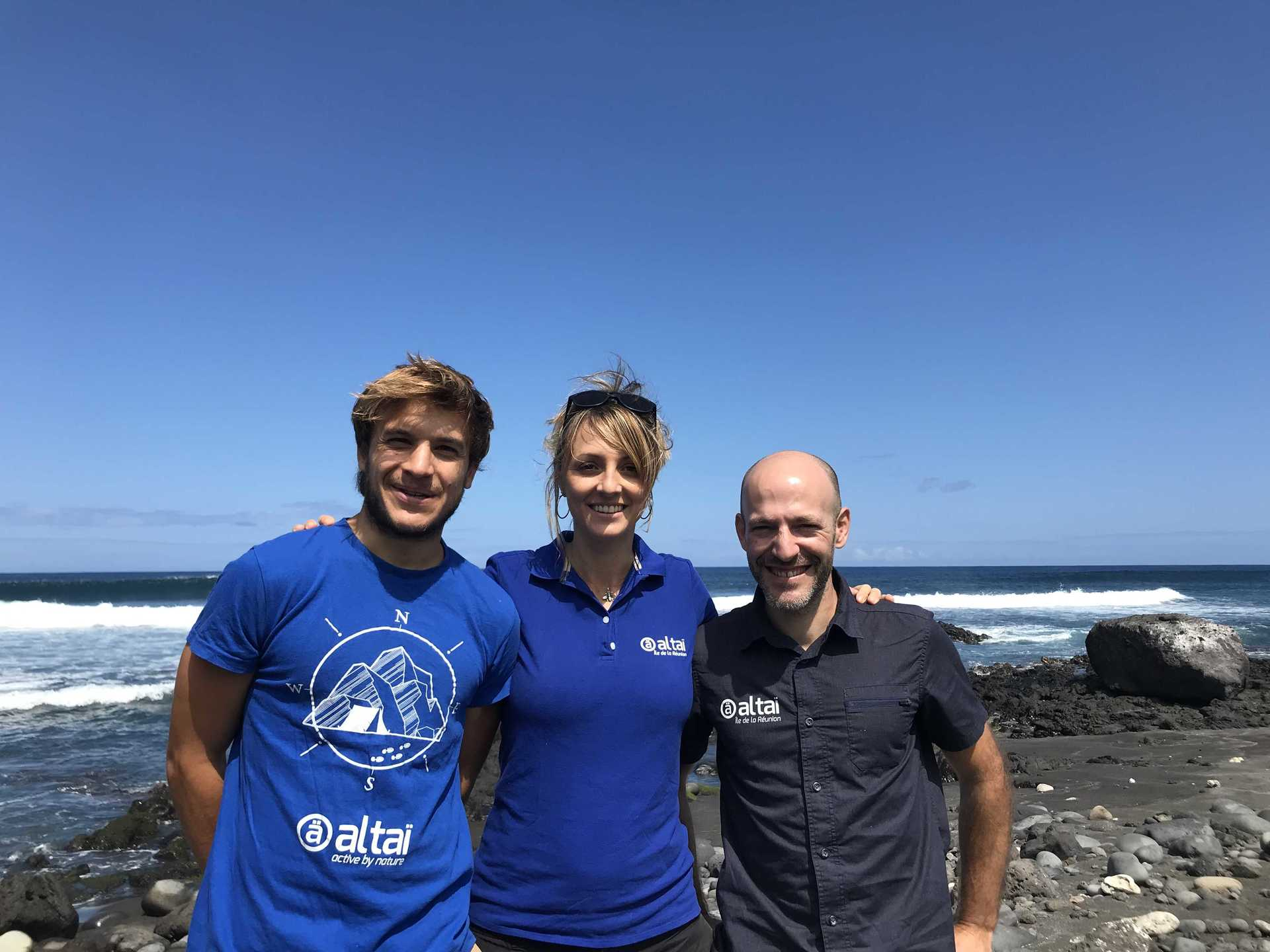 Our local team in Réunion Island