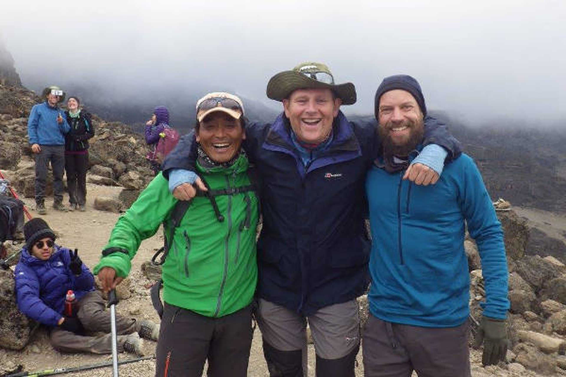 Our Nepal guide, Dorchi, summits Kilimanjaro