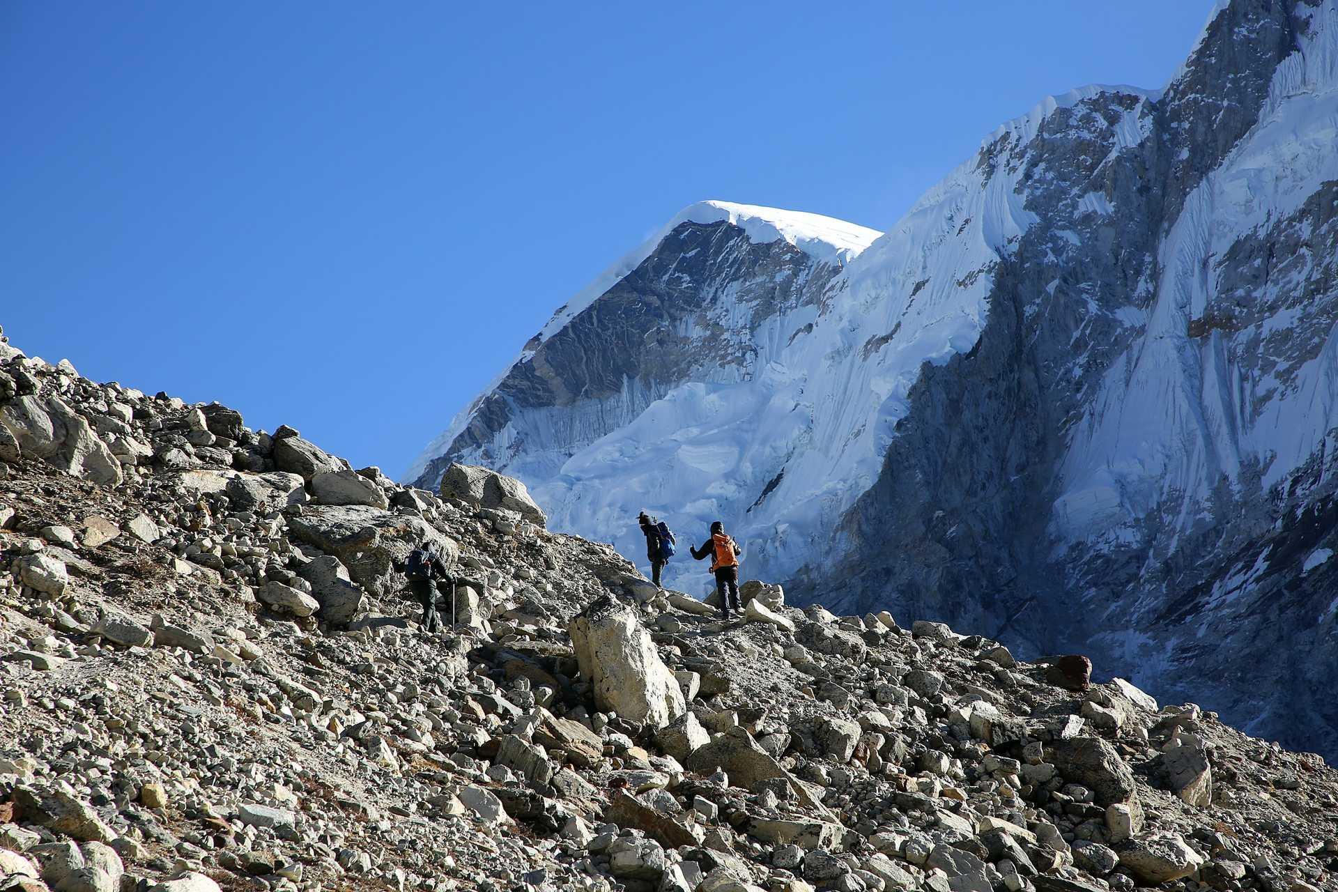 Trekking in Mount Everest