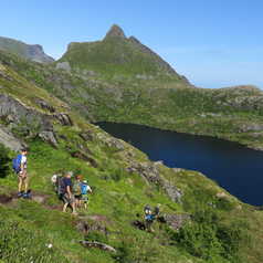 Hiking in the Lofoten Islands
