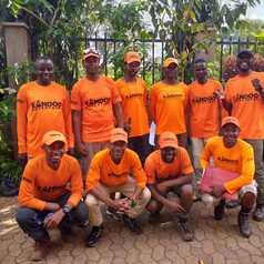The Kandoo Team in Tanzania