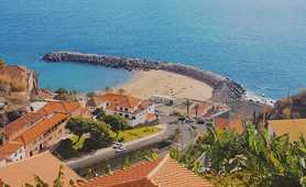 Beach on Madeira