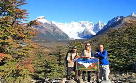 Cerro Torre belvedere in Patagonia