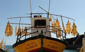 Fishing boat on Madeira