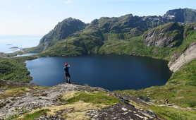 Hiking in the Lofoten Islands