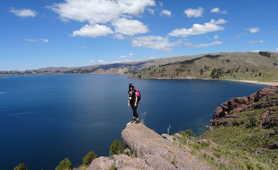 Hiking in the Titicaca lake region