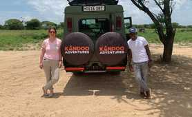 Kandoo Adventures Safari vehicle