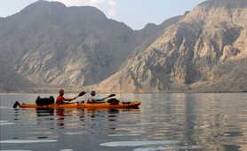 Kayaking in the Musandam fjords