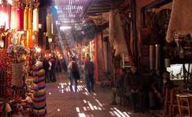 Markets in Morroco