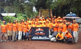 Our local team in Tanzania