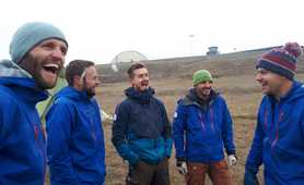 Our team in Svalbard