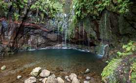 Waterfall on Madeira