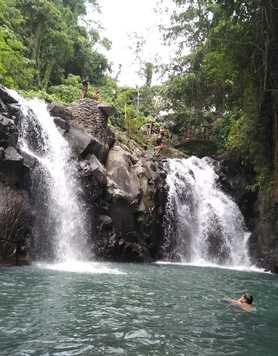 Sambangan waterfalls in Bali