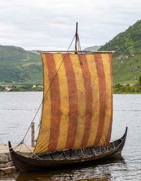 Viking ship in Norway