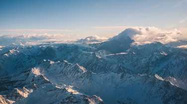 Aconcagua from the air