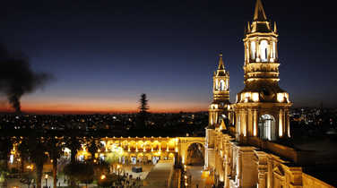 Central square of Arequipa