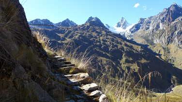 Choquetacarpo during the Vilcabamba trail