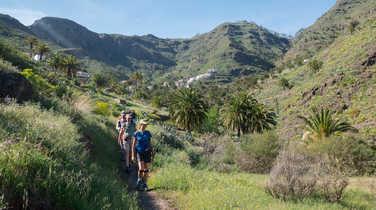 Hiking in La Gomera