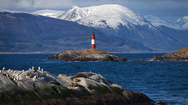 Lighthouse in Patagonia